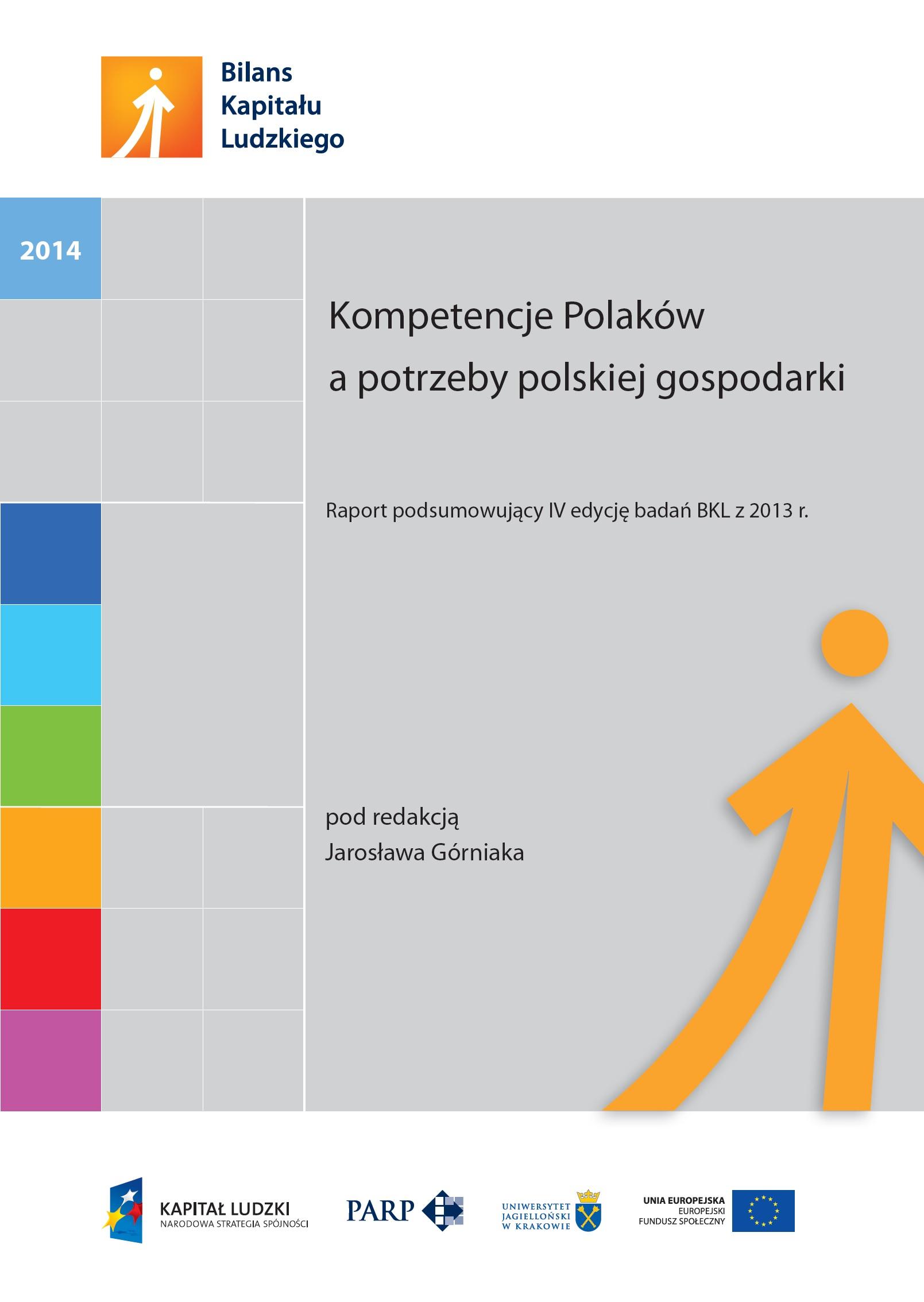 Kompetencje Polaków a potrzeby polskiej gospodarki
