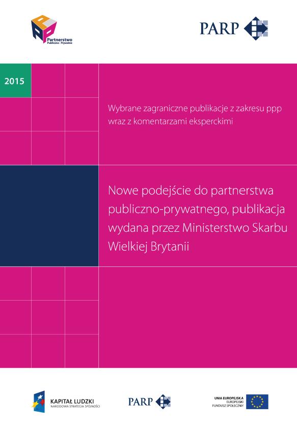 Nowe podejście do partnerstwa publiczno-prywatnego