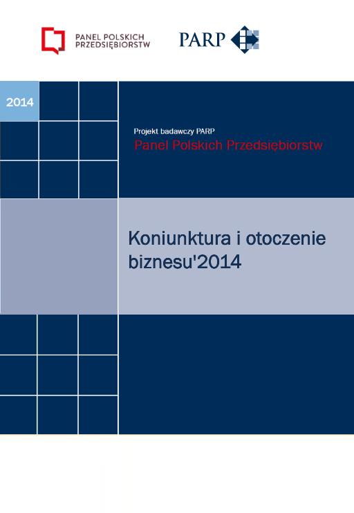 Koniunktura i otoczenie biznesu - 2014
