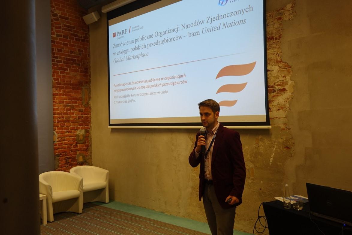 Polska Agencja Rozwoju Przedsiębiorczości na XII Europejskim Forum Gospodarczym w Łodzi